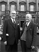 Chemists Elected to Dail Eireann - P Brady and F Loughman. 20/03/1957