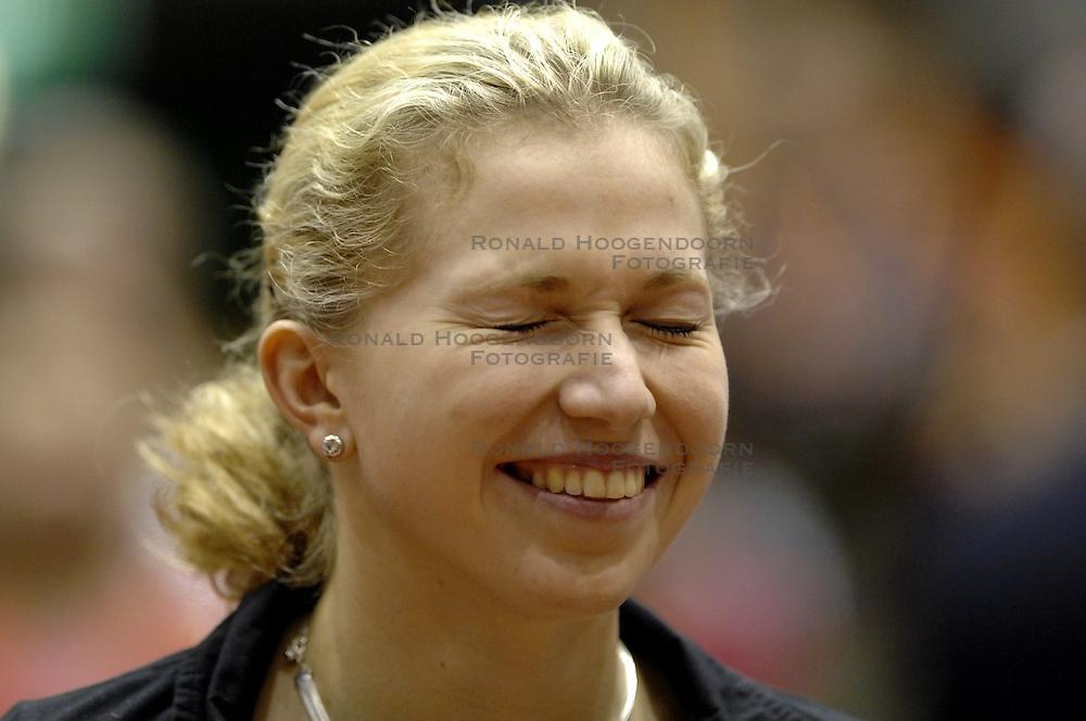 17-12-2006 TENNIS: SKY RADIO TENNIS MASTER: ROTTERDAM<br /> Michaella Krajicek wint de Masters titel<br /> &copy;2006-WWW.FOTOHOOGENDOORN.NL