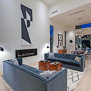 RESIDENTIAL: GRAND VIEW RESIDENCE: MODERN HOME STAGING, MAR VIST​A​,​ LOS ANGELES​