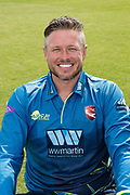 Mitch Claydon of Kent  during the Kent County Cricket Club Headshots 2017 Press Day at the Spitfire Ground, Canterbury, United Kingdom on 31 March 2017. Photo by Martin Cole.