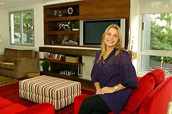 Carolini Baggio, em sua residência em Porto Alegre. FOTO: Marcos Nagelstein/Preview.com