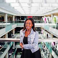 11./05/17 - BB,C Media City Salford, - Ayshah Tull BBc Newsrounds presenter and journalist .