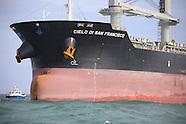Cielo di San Francisco Bulk Carrier aground Dublin Bay