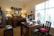 The home office of Kyle Crews in the Tower Residences at the Ritz-Carlton in Dallas on Wednesday, April 17, 2013. (Cooper Neill/The Dallas Morning News)