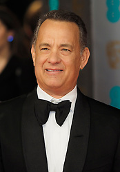 Tom Hanks as he arrives at the BAFTA Film Awards. London, United Kingdom. Sunday, 16th February 2014. Picture by Max Nash / i-Images
