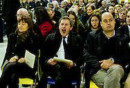 Roma 24 Dicembre 2012..Messa di Natale con i poveri allla Cittadella della carità ?Santa Giacinta? ( Via Casilina Vecchia, 19),con gli ospiti, i volontari e gli operatori Caritas, la liturgia, presieduta Cardinale Agostino Vallini, Vicario del Santo Padre per la Diocesi di Roma, prendono parte il sindaco di Roma Capitale, Gianni Alemanno, la presidente della Regione Lazio, Renata Polverini e il Presidente della Provincia Nicola Zingaretti.