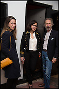 SONIA VAN GILDER COOKE; JOY LO DICO; CHIP MARTIN, Opening of the Trouble Club., Lexington St. Soho London. 6 November 2014