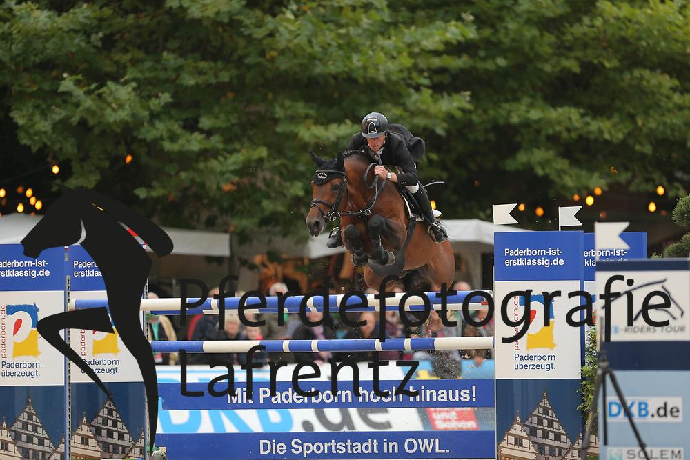 Ehning, Marcus, Comme il faut<br /> Paderborn - Paderborn Challenge 2014<br /> Championat<br /> © www.sportfotos-lafrentz.de/ Stefan Lafrentz