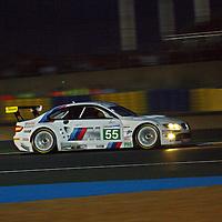 #55 BMW M3, BMW Motorsport, Drivers: Farfus, Mueller, Werner, GTE Pro, Wednesday night qualifying, Le Mans 24H 2011