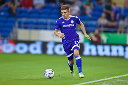 CARDIFF, WALES - Wednesday, August 17, 2016: Cardiff City's Declan John during the Football League Championship match against Blackburn Rovers at Cardiff City Stadium. (Pic by David Rawcliffe/Propaganda)