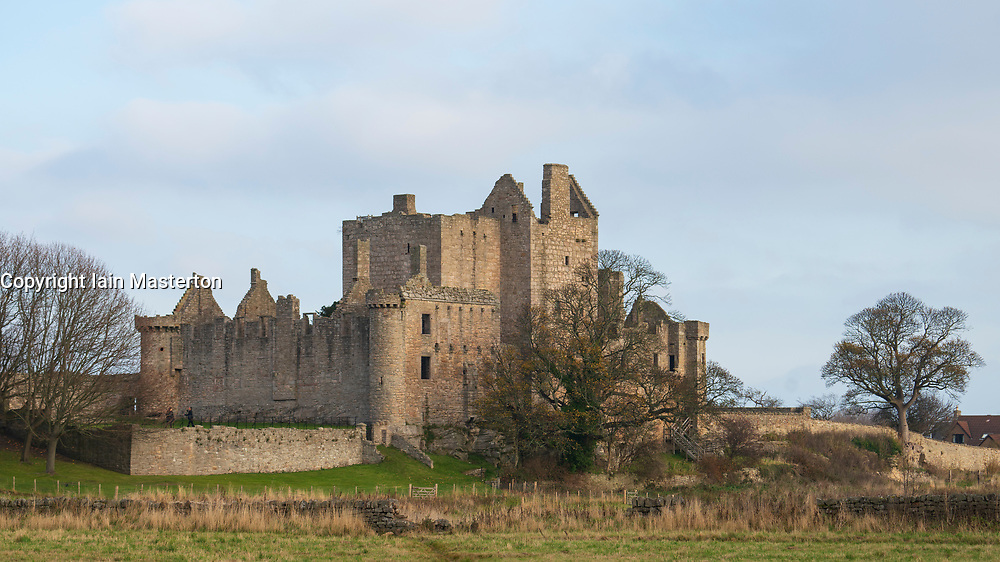 Craigmillar Castle in Edinburgh, Scotland, UK