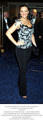 Actress MARTINE McCUTCHEON at a reception in London on 23rd February 2003.<br />PHK 304