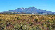 Waiouru-Snow thin on central plateau's mountains