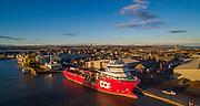 Aberdeen Harbour, Montrose, Scotland