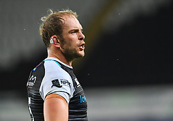 Alun Wyn Jones of Ospreys <br /> <br /> Photographer Craig Thomas/Replay Images<br /> <br /> Guinness PRO14 Round 4 - Ospreys v Benetton Treviso - Saturday 22nd September 2018 - Liberty Stadium - Swansea<br /> <br /> World Copyright © Replay Images . All rights reserved. info@replayimages.co.uk - http://replayimages.co.uk