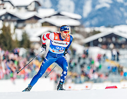 21.02.2019, Langlauf Arena, Seefeld, AUT, FIS Weltmeisterschaften Ski Nordisch, Seefeld 2019, Langlauf, Herren, Sprint, im Bild Andrew Newell (USA) // Andrew Newell of the USA during the men's Sprint competition of the FIS Nordic Ski World Championships 2019. Langlauf Arena in Seefeld, Austria on 2019/02/21. EXPA Pictures © 2019, PhotoCredit: EXPA/ Stefan Adelsberger