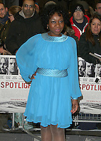 Muna Otaru, Spotlight - UK Film Premiere, Curzon Mayfair, London UK, 20 January 2016, Photo by Brett D. Cove