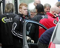 Fotball / Football<br /> Trening Norge foran Play Off mot Tsjekkia<br /> Training Norway in front of the play off match v Czech Republic<br /> Praha / Prague<br /> 15.11.2005<br /> Foto: Morten Olsen, Digitalsport<br /> <br /> John Arne Riise - Liverpool