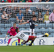 Rangers' Harry Forrester opens the scoring - Dundee v Rangers, Ladbrokes Scottish Premiership at Dens Park<br /> <br />  - &copy; David Young - www.davidyoungphoto.co.uk - email: davidyoungphoto@gmail.com
