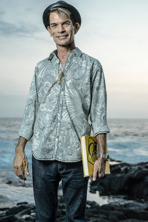 Artist Brad Parker at the Royal Kona Resort in Kona, Hawaii | Hana Hou! Magazine