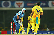 Jacques Rudolph of the Titans reacts after a delivery  during match 3 of the Karbonn Smart Champions League T20 (CLT20) 2013  between The Chennai Superkings and the Titans held at the JSCA International Cricket Stadium, Ranchi on the 22nd September 2013<br /> <br /> Photo by Ron Gaunt-CLT20-SPORTZPICS  <br /> <br /> Use of this image is subject to the terms and conditions as outlined by the CLT20. These terms can be found by following this link:<br /> <br /> http://sportzpics.photoshelter.com/image/I0000NmDchxxGVv4