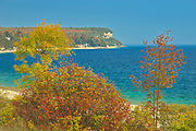 Autumn at Isthmus Bay in Georgian Bay (Lake Huron). Bruce Peninsula.<br />