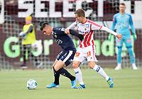 Fotball, 22. september  2019 , Eliteserien , Tromsø - Strømsgodset<br /> Kristoffer Tokstad, SIF<br /> Morten Gamst pedersen , SIF