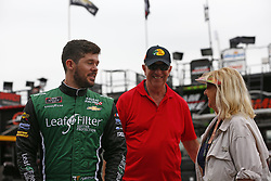 November 16, 2018 - Homestead, Florida, U.S. - Ryan Truex (11) hangs out in the garage during practice for the Ford 300 at Homestead-Miami Speedway in Homestead, Florida. (Credit Image: © Justin R. Noe Asp Inc/ASP)