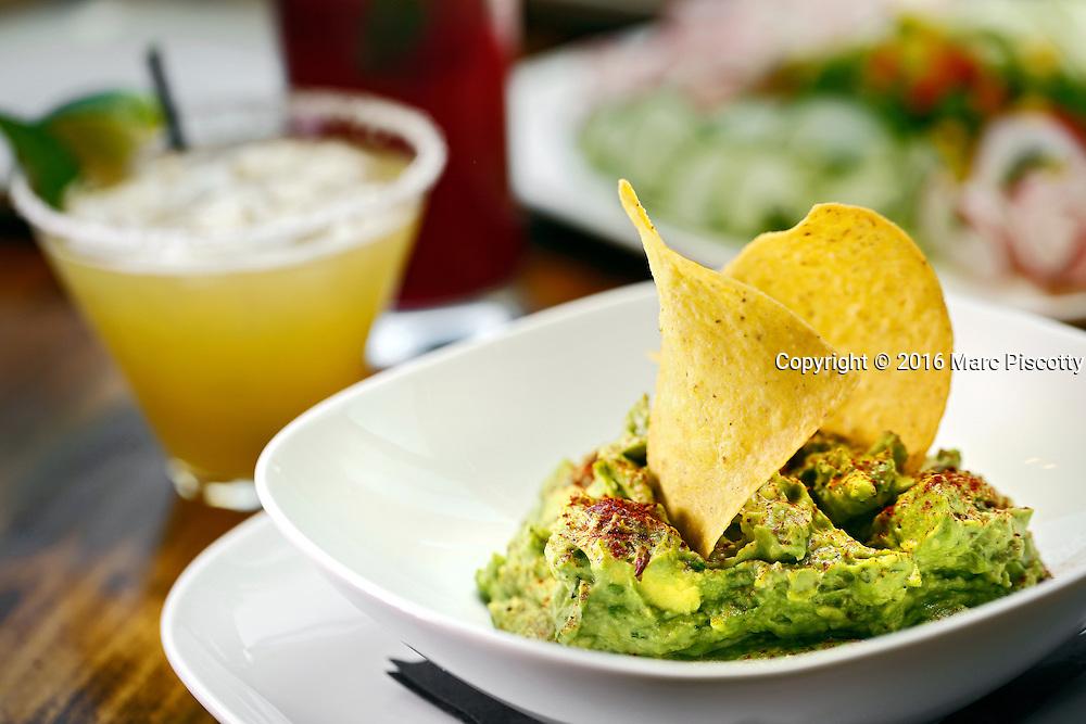 SHOT 10/12/16 5:25:31 PM - Guacamole at Latigo Modern Mexican restaurant in the Ballpark neighborhood of Denver, Co. Located in downtown Denver, Latigo is a purveyor of fine Mexican dining from the esteemed Chef Ignacio Leon.(Photo by Marc Piscotty / © 2016)