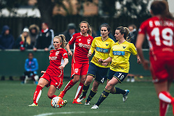 Millie Farrow of Bristol City Women in action - Rogan Thomson/JMP - 06/11/2016 - FOOTBALL - The Northcourt Stadium - Abingdon-on-Thames, England - Oxford United Women v Bristol City Women - FA Women's Super League 2.