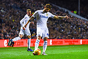 Mateusz Klich of Leeds United (43) crosses the ball during the EFL Sky Bet Championship match between Leeds United and Bristol City at Elland Road, Leeds, England on 24 November 2018.