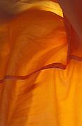 Monks robe in sunlight.