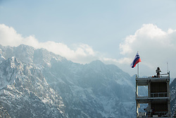 Television camera during the Ski Flying Individual Competition at Day 2 of FIS World Cup Ski Jumping Final, on March 20, 2015 in Planica, Slovenia. Photo by Vid Ponikvar / Sportida