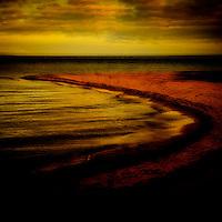 Abstract,sea,beach, shore, ocean, sand, horizon,