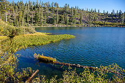 """""""Smith Lake 1"""" - Photograph shot in the morning at Smith Lake in California's Plumas National Forest."""