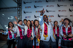 October 11, 2016 - Nashville, Tennessee, USA - Japan Mass Choir at the 47th Annual GMA Dove Awards  in Nashville, TN at Allen Arena on the campus of Lipscomb University.  The GMA Dove Awards is an awards show produced by the Gospel Music Association. (Credit Image: © Jason Walle via ZUMA Wire)