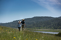 HIking Tomales Bay Ecological Reserve near Point Reyes, CA