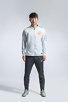 **EXCLUSIVE**Portrait of Chinese soccer player Liu Boyang of Beijing Renhe F.C. for the 2018 Chinese Football Association Super League, in Shanghai, China, 24 February 2018.