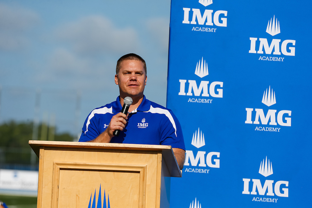 IMG Class of 2016 celebrate their next steps as they announce their college commitment in Bradenton, Fla., on Friday, May 20, 2016. The three-day tournament showcased nationally-ranked athletes at IMG Academy's world-class facilities. IMG is the world's largest and most advanced multi-sport and education complex for youth, collegiate, professional and adult athletes. / (May 20, 2016; IMG Photo by Casey Brooke Lawson)