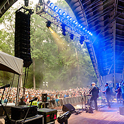 Columbia, MD - July 22, 2017 - Greensky Bluegrass performs at The Chrysalis at Merriweather Post Pavilion. (Photo by Richie Downs)