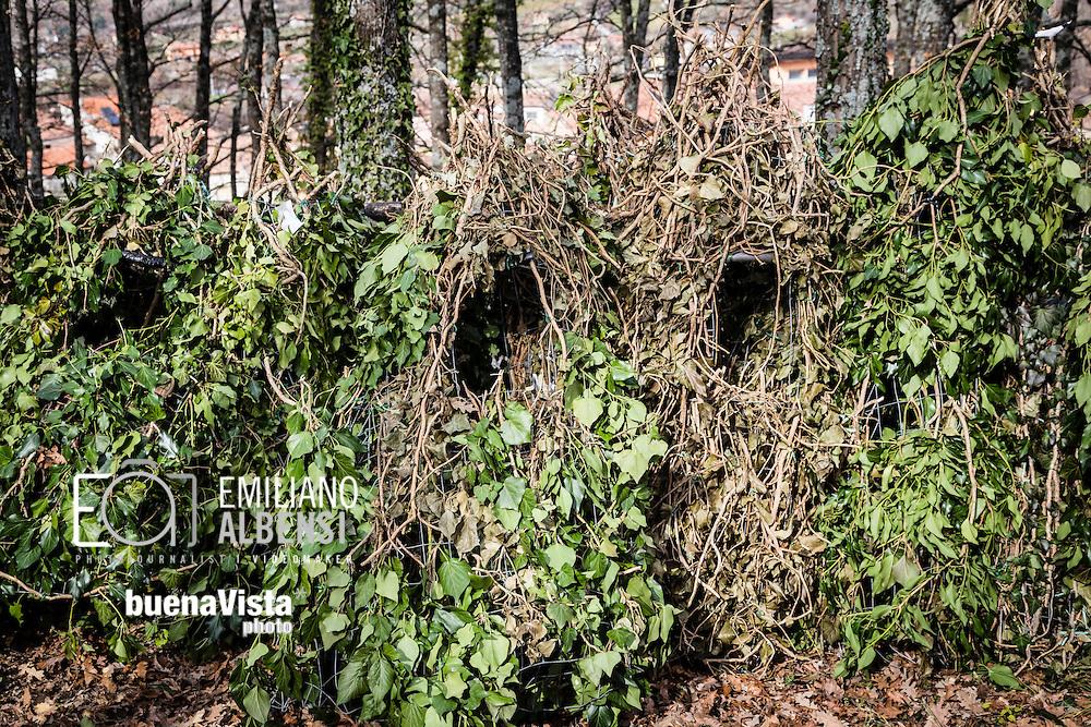 Satriano di Lucania, Basilicata, Italia, 07/02/2016<br /> Il &ldquo;Bosco Spera&rdquo; di Satriano, alcuni minuti prima della vestizione dei Rumita<br /> <br /> Satriano di Lucania, Basilicata, Italy, 07/02/2016<br /> The &ldquo;Bosco Spera&rdquo; (Spera Wood) in Satriano, just some minutes before the dressing of the Rumita (hermit)