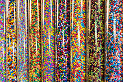 Colorful treats in a candy shop.