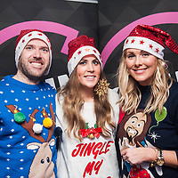 Ryan Philips, Rachel Ryan &amp; Tracey Clifford  pictured at the Spin 1038 Jingle Ball, rocking their way into<br /> <br /> the festive season with top class entertainment from The Coronas and Gavin <br /> <br /> James at the Opium Rooms on Wednesday, 17th December, 2014.