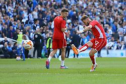 Matt Taylor of Bristol City warms up - Mandatory by-line: Jason Brown/JMP - 29/04/2017 - FOOTBALL - Amex Stadium - Brighton, England - Brighton and Hove Albion v Bristol City - Sky Bet Championship