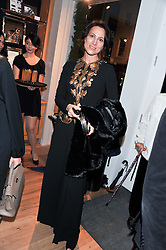 LADY NUTTALL at the Linley Christmas party at Linley, 60 Pimlico Road, London on 20th November 2012.