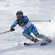 Ragnhild Mowinckel, Norway, in action during the Women's Slalom event during the Winter Games at Cardrona, Wanaka, New Zealand, 24th August 2011. Photo Tim Clayton...