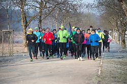 Tekaci - Priprave Ljubljanski maraton 2019, on February 16, 2019 in Ljubljana, Slovenia. Photo by Anze Petkovsek / Sportida