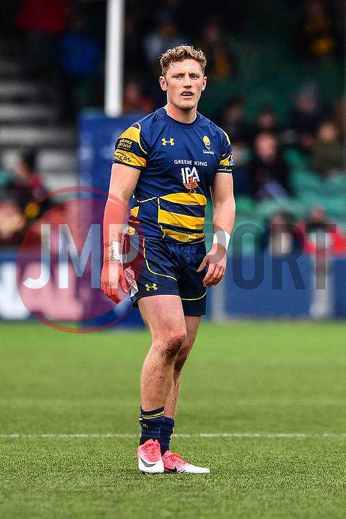 Tom Howe of Worcester Warriors - Mandatory by-line: Craig Thomas/JMP - 27/01/2018 - RUGBY - Sixways Stadium - Worcester, England - Worcester Warriors v Exeter Chiefs - Anglo Welsh Cup