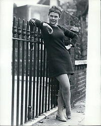 Nov. 11, 1967 - Judi Dench Is TV's Top Actress Judi Dench was voted TV Actress of the Year. Miss Dench, a 32-year-old doctor's daughter from New York, is on her way to becoming one of Britain;s top actresses. Her new award was given by the Guild of TV Producers and Directors for her performance as a girl searching hesitantly for love in one of the BBC-2 series of four plays called ''Talking To A Stranger''. Photo Shows: Judi Dench, TV's Top Actress - says her ambition has now been realised - pictured at her home in Regent's Park Terrace. (Credit Image: © Keystone Press Agency/Keystone USA via ZUMAPRESS.com)