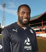 Dundee new boy Christian Nade pictured at Dens Park<br />